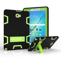 KickStand odolný obal se stojánkem na Samsung Galaxy Tab A 10.1 NOTE - zelený