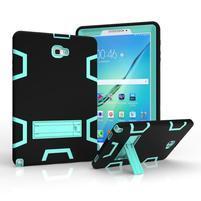 KickStand odolný obal se stojánkem na Samsung Galaxy Tab A 10.1 NOTE - cyan