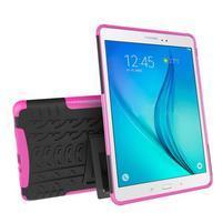 Outdoor odolný obal se stojánkem na tablet Samsung Galaxy Tab A 9.7 - rose