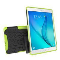 Outdoor odolný obal se stojánkem na tablet Samsung Galaxy Tab A 9.7 - zelený