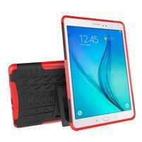 Outdoor odolný obal se stojánkem na tablet Samsung Galaxy Tab A 9.7 - červený