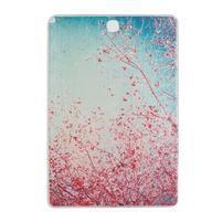 Ultrantenký obal na tablet Samsung Galaxy Tab A 9.7 - květoucí švestka