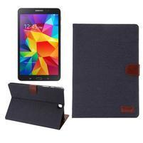 Jeans pouzdro na tablet Samsung Galaxy Tab A 9.7 - černomodré