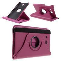 Circ PU kožené otočné pouzdro na Samsung Galaxy Tab A 7.0 - rose