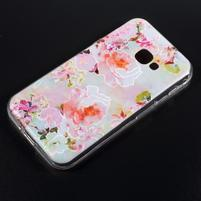 Patty gelový obal na mobil Samsung Galaxy Xcover 4 - kvetoucí nádhera