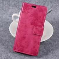 Vintage PU kožené  pouzdro na mobil Samsung Galaxy Xcover 4 - rose