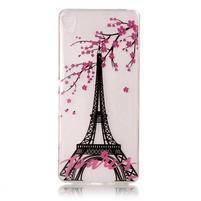 Embi gelový obal na Sony Xperia XA - Eiffelova věž