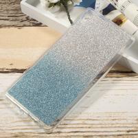 Glitter gelový obal na Sony Xperia XA Ultra - modrý