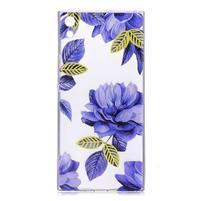 Patty gelový obal na Sony Xperia XA Ultra - modré květy