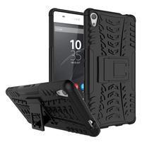 Outdoor odolný obal na mobil Sony Xperia XA Ultra - černý
