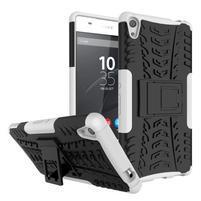 Outdoor odolný obal na mobil Sony Xperia XA Ultra - bílý