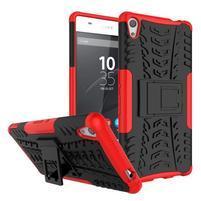 Outdoor odolný obal na mobil Sony Xperia XA Ultra - červený