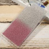 Glitter gelový obal na Sony Xperia XA Ultra - rose