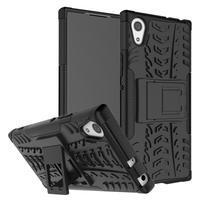 Outdoor odolný obal se stojánkem na Sony Xperia XA1 - černý
