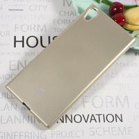 MG jemně se třpytící gelový obal na Sony Xperia XA1 Ultra - zlatý