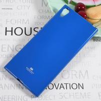 MG jemně se třpytící gelový obal na Sony Xperia XA1 Ultra - modrý