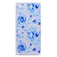 Thiny gelový obal na mobil Sony Xperia XA1 Ultra - modré růže