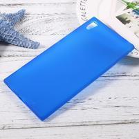 Matný gelový obal na Sony Xperia XA1 Ultra - modrý