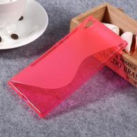 S-line gelový obal na Sony Xperia XA1 Ultra - červený
