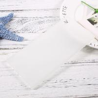 Matný gelový obal na Sony Xperia XA1 Ultra - transparentní