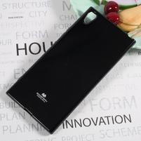 MG jemně se třpytící gelový obal na Sony Xperia XA1 Ultra - černý
