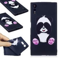Matty gelový obal na Sony Xperia XZ - panda