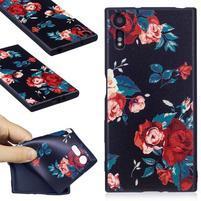 Matty gelový obal na Sony Xperia XZ - růže