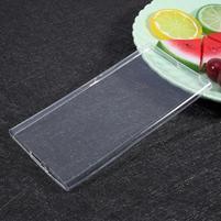 Ultratenký gelový obal na Sony Xperia XZ Premium - transparentní