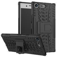 Outdoor odolný obal na mobil Sony Xperia XZ Premium - černý