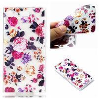 Patty gelový obal na Sony Xperia XZ1 - květinová koláž