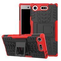 Outdoor odolný obal na mobil Sony Xperia XZ1 Compact - červený