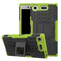 Outdoor odolný obal na mobil Sony Xperia XZ1 Compact - zelený