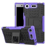 Outdoor odolný obal na mobil Sony Xperia XZ1 Compact - fialový