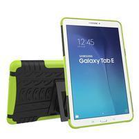 Outdoor odolný obal na Samsung Galaxy Tab E 9.6 - zelený