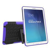 Outdoor odolný obal na Samsung Galaxy Tab E 9.6 - fialový