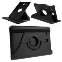 Circ PU kožené pouzdro na Samsung Galaxy Tab E 9.6 - černé