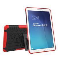 Outdoor odolný obal na Samsung Galaxy Tab E 9.6 - červený