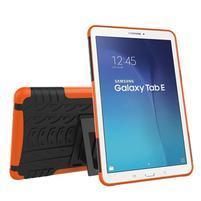 Outdoor odolný obal na Samsung Galaxy Tab E 9.6 - oranžový
