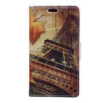 Emotive peněženkové pouzdro na mobil Vodafone Smart E8 - Eiffelova věž