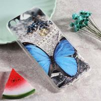 Softy gelový obal s potiskem na Xiaomi Mi 5 - motýl