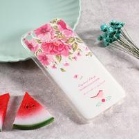 Softy gelový obal s potiskem na Xiaomi Mi 5 - růže