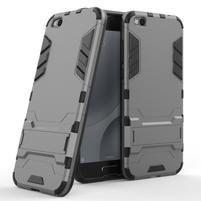 Defender odolný obal na mobil Xiaomi Mi 5c - šedý