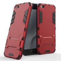 Defender odolný obal na mobil Xiaomi Mi 5c - červený
