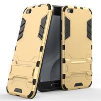 Defender odolný obal na mobil Xiaomi Mi 5c - zlatý