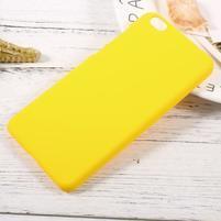 Rubber pogumovaný plastový obal na Xiaomi Mi 5c - žlutý