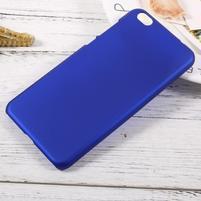 Rubber pogumovaný plastový obal na Xiaomi Mi 5c - modrý