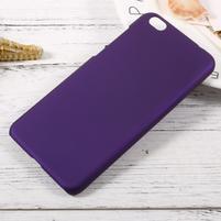 Rubber pogumovaný plastový obal na Xiaomi Mi 5c - fialový