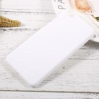 Rubber pogumovaný plastový obal na Xiaomi Mi 5c - bílý