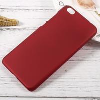 Rubber pogumovaný plastový obal na Xiaomi Mi 5c - červený
