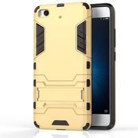 Defender odolný obal na mobil Xiaomi Mi5s - zlatý